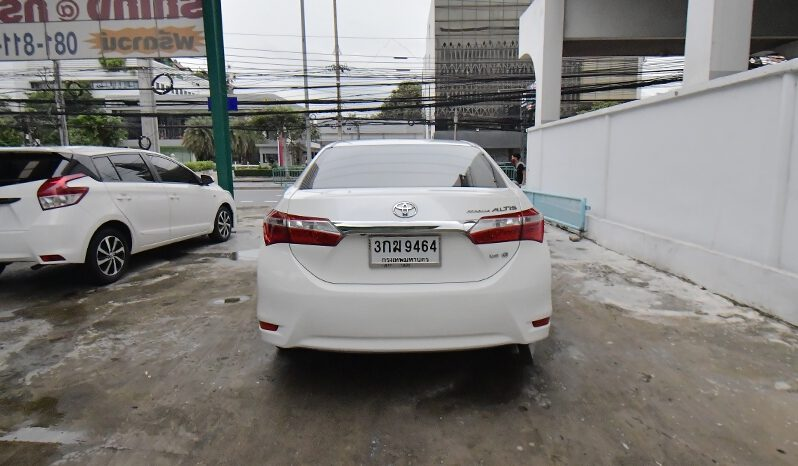 TOYOTA NEW ALTIS 1.8 G A/T  ปี 2014 full